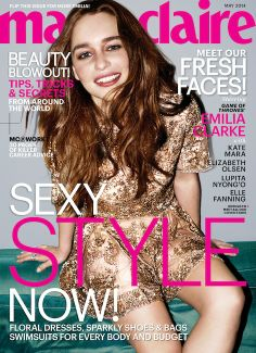 Marie Claire Snags Five Major 'It' Girls for Its May Covers: Emilia Clarke