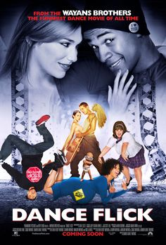 Dance Flick , starring Marlon Wayans, Shawn Wayans, Shoshana Bush, Damon Wayans Jr.. Street dancer Thomas Uncles is from the wrong side of the tracks, but his bond with the beautiful Megan White might help the duo realize their dreams as the enter in the mother of all dance battles. #Action #Comedy #Music
