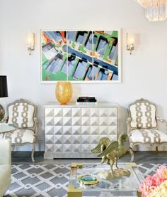 A Pacific Heights, CA home's living area vignette. | See MORE at www.luxesource.com | #luxemag | #interiordesign #design #interiors #decor