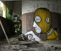 The talents of street artist extraordinare Fabrizio Sarti AKA Sea