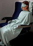 Aqua Silk Dreamsack® Airplane Comfort Set