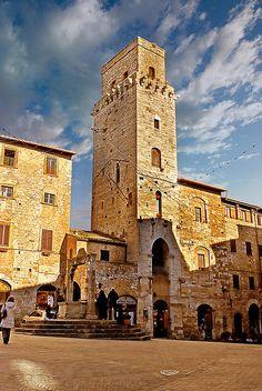 San Gimignano, province of Siena Tuscany, Italy