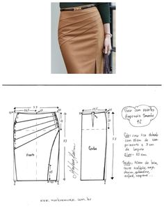 Best 12 Spring Summer Autumn Fashion Work Skirts Women's Solid Color Slim Hip Middle Waist Straight Skirt For Girls – SkillOfKing. Skirt Patterns Sewing, Clothing Patterns, Pattern Sewing, Autumn Fashion Work, Costura Fashion, Pencil Skirt Outfits, Pencil Skirts, Classic Skirts, Dress Tutorials