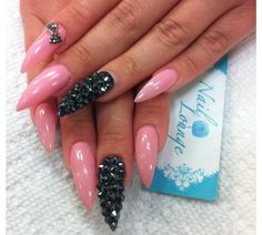 truly edgy. pretty meets punk. not really feeling it, but I might try it !