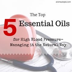 Given the stress relief properties of many essential oils, it should come as no surprise that essential oils are also beneficial to lower blood pressure.  In fact, research has shown that certain essential oils can lower blood pressure and improve sleep quality at the same time. Essential oils that lower blood pressure include lavender, clary sage, ylang ylang, sweet marjoram and neroli. #holistic #natural #health #aromatherapy