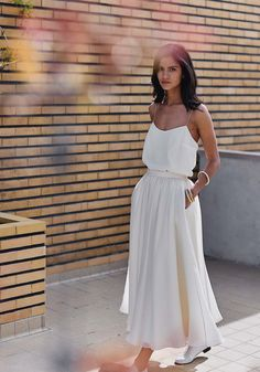 Wedding Brunch Outfit The Bride Ideas Brunch Wedding, Casual Wedding, Boho Wedding, Wedding Bride, Casual Bride, Summer Wedding, Bridal Outfits, Bridal Gowns, Laura Lee