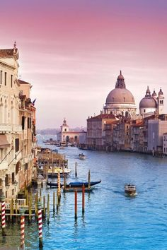 Grand Canal, Venice, Italy I want to go back there so bad! It is one of the most beautiful places i have ever been.