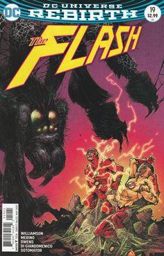 The Flash # 19 DC Comics Vol. 5 Variant Cover