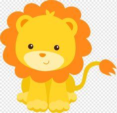 Baby Zoo Animals, Safari Animals, Safari Party, Safari Theme, Safari Png, Theme Bapteme, Lion Clipart, Lion Baby Shower, Lion Craft