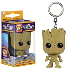 I am Groot! This Guardians of the Galaxy Groot Pocket Pop! Vinyl Figure Key Chain is a miniaturized version of Funko's Groot Pop! Pop Marvel, Captain Marvel, Marvel Comics, Marvel Avengers, Comic Superheroes, Avengers Series, Lego Marvel, Pop Figures, Vinyl Figures