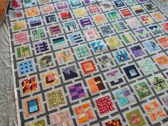 "Stitch by Stitch: Julie's ""Tula Pink"" 100 block city sampler quilt"