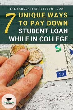 Luckily, there are several unique ways to pay down student loans faster, even if your child is still in school. If they are ready to tackle their debt, here are some approaches worth exploring. College Admission Essay, College Planning, Student Loan Debt, Exploring, How To Make Money, Child, School, Tips, Unique