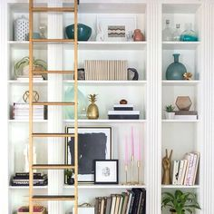 Bookcase Confessions on ➡️CoastalCollectiveCo.com⬅️  #linkinprofile TAG A FRIEND TO SHARE.❤️⚓️ #shelfie #stylingtips