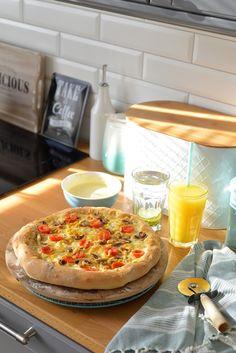 Mozzarella, Pizza