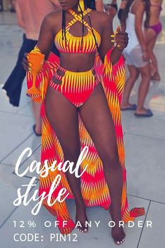 Summer Outfits, Girl Outfits, Cute Outfits, Fashion Outfits, African Print Dress Designs, African Print Fashion, African Swimwear, Women Swimsuits, Swimsuits For Curves