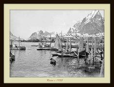 Lofoten, Arctic Circle, Fishing Villages, Old Pictures, Norway, Islands, Album, Places, Painting