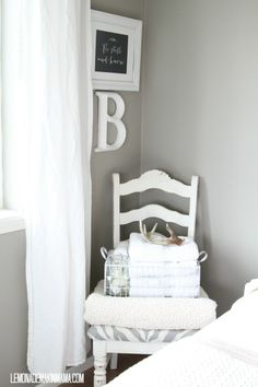 Sherwin Williams  7642 Pavestone (rich calming gray) Interior/Exterior paint Color Collection- Pottery Barn Kids - Fall 2013  Color Family-  Cool Neutrals  RGB Value: R-162   G-156   B-147  Hexadecimal Value    # A29C93