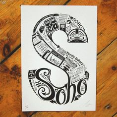 appropriately LucyLovesThis Soho graphics!