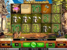 Tauche in die M'rchen Geschichte und kletter auf dem Beanstalk hoch! Kostenlos ist der Jack and the Beanstalk Spiel von NetEnt verfügbar!