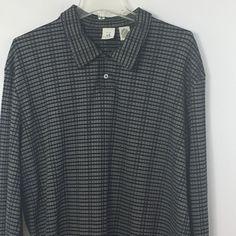 Armani Exchange AX Striped Long Sleeve Golf Polo Shirt Size XL #AXArmaniExchange #PoloRugby
