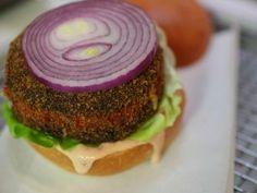 Killer Mushroom Cheese Burgers from CookingChannelTV.com