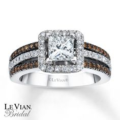 le vian chocolate diamonds | Email Le Vian Bridal Chocolate Diamonds 14K Gold Engagement Ring
