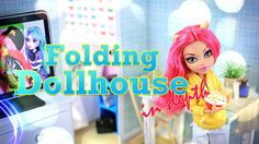 DIY - How to Make: Folding Dollhouse - IN DEPTH - Handmade - Doll - Crafts - 4K - YouTube