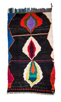 cavinmorrisgallery: Morocco Morocco Boucherouite, Late 20th C (Industrial) Recycled Fibers, Rag 78.74 x 55.12 inches 200 x 140cm Mor 57