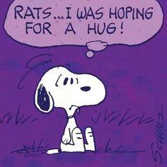 Snoopy hugs anyone? ?