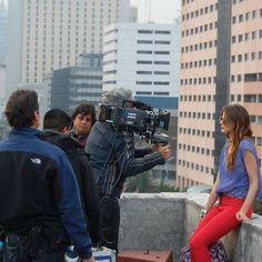 Muchos profesionales intervienen en el shooting. Making Of Rebajas - El Palacio de Hierro