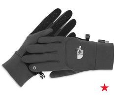 First came the smart phone, then came the smart gloves. The North Face is gettin' techy with us!