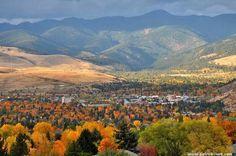 Missoula Montana in the fall!! Fabulous!!