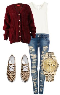 Fall Outfit. I would definitely wear different shoes but I loove the sweater