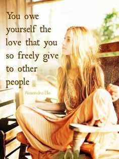Giving love ~ is wonderful ~ not giving love to ~ yourself first ~ is depleting!  Lightbeingmessages.com