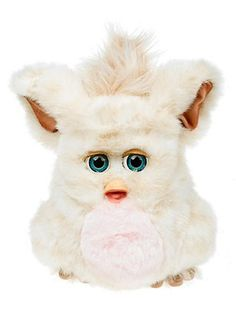 "Furby (Glad to see these make a comeback!) ~ In 1998, the newest electronic plaything to hit the market was Furby. They were a furry, animatronic creature that spoke ""Furbish"" but could eventually learn English, only to shower you w terms of endearment. Furby sold 1.8 million units in 1998 & a staggering 14 million in 1999. Combined, Furby had a vocabulary of nearly 200 Furbish and English words."