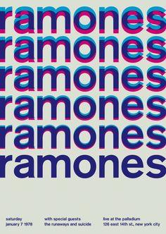 ramones at the palladium, 1978 - swissted