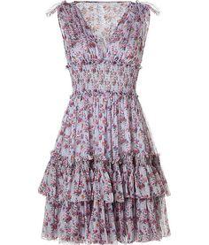 Quiksilver vintage posy maxi dress