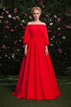 Платье «Маруся» красное — 19 990 рублей