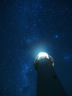 Lighthouse and the Milky Way