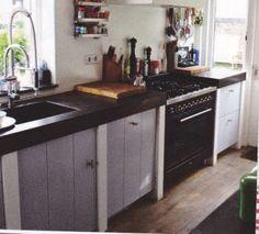 Costruire una cucina in muratura con mobili ikea | Pinterest ...