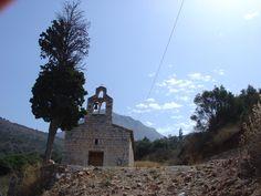 Kościółek na półwyspie Mani