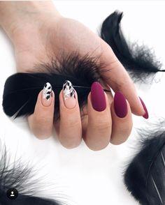 Nails matte nails, acrylic nails, purple nails, nude nails, nails g. Elegant Nails, Stylish Nails, Purple Nails, Matte Nails, Acrylic Nails, Gel Nail, Gorgeous Nails, Pretty Nails, Different Nail Shapes