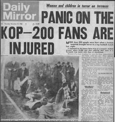 Liverpool 2 Ajax 2 (3-7 agg) in Dec 1966. Newspaper report from the Daily Mirror as Liverpool go out of the European Cup 2nd Round, 2nd Leg stage.