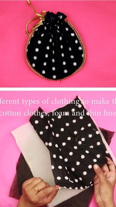 Diy Bags Patterns, Dress Sewing Patterns, Diy Crafts For Girls, Diy Crafts Hacks, Diy Bag Designs, Sewing Designs, Fashion Sewing, Diy Fashion, Sewing Tutorials