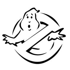 Ghostbusters Die Cut Vinyl Decal PV1157 for Windows, Vehicle Windows, Vehicle Body Surfaces or just about any surface that is smooth and clean