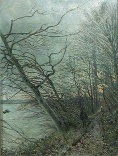 Le Bois des Roches Veneux Nadon - Alfred Sisley