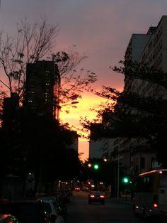 Centro da Cidade - Avenida Henrique Valadares Times Square, Celestial, Sunset, Travel, Outdoor, Rio De Janeiro, City, Centre, Outdoors
