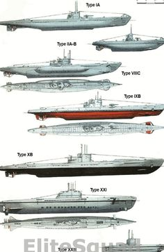German Submarine comparison WWII Naval History, Military History, Women's History, History Photos, British History, Ancient History, American History, Native American, Cruisers