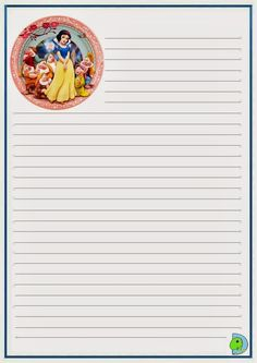 Disney Writing, Mickey Mouse, Lilo E Stitch, Planners, Snow White, Printable, Notes, Drawings Of Couples, Belle Drawing