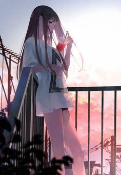 Do you want humor Geek manga Otaku Don't hesitate to affix us Anime Neko, Kawaii Anime Girl, Cool Anime Girl, Pretty Anime Girl, Chica Anime Manga, Beautiful Anime Girl, Anime Art Girl, Anime Love, Anime Girls